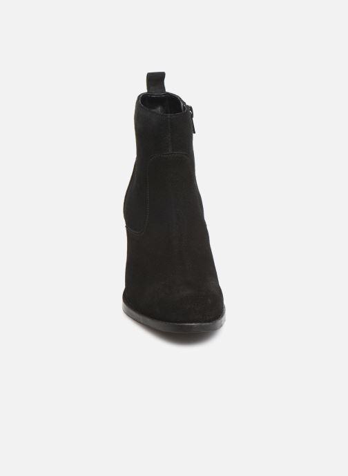 Stivaletti e tronchetti I Love Shoes PRIMROSE LEATHER Nero modello indossato