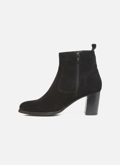 Boots en enkellaarsjes I Love Shoes PRIMROSE LEATHER Zwart voorkant