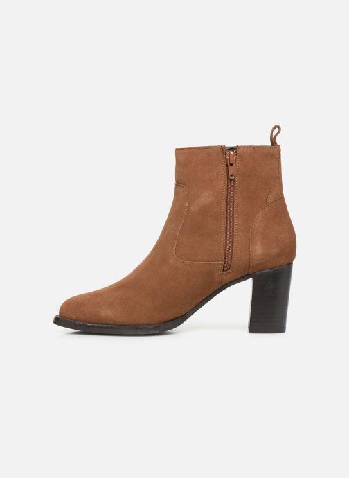 Stivaletti e tronchetti I Love Shoes PRIMROSE LEATHER Marrone immagine frontale