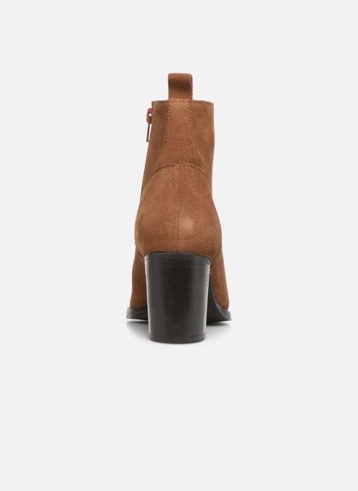 Bottines et boots I Love Shoes PRIMROSE LEATHER Marron vue droite
