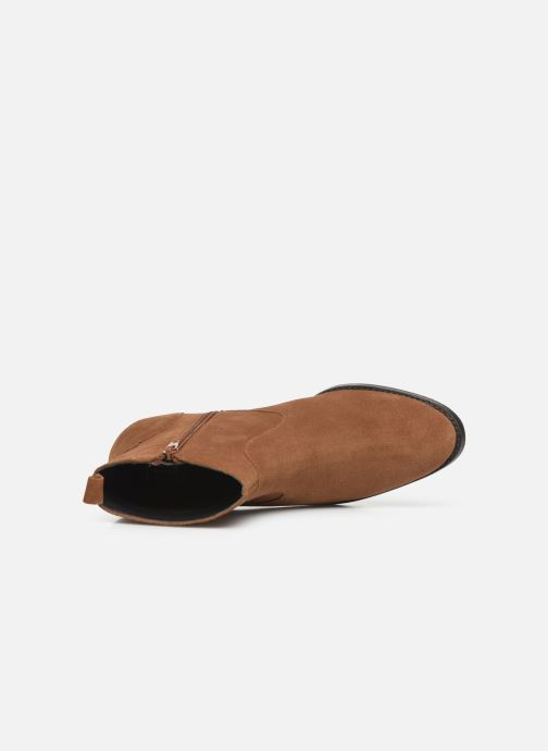 Stivaletti e tronchetti I Love Shoes PRIMROSE LEATHER Marrone immagine sinistra