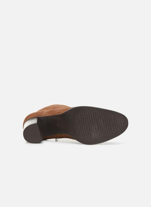 Stivaletti e tronchetti I Love Shoes PRIMROSE LEATHER Marrone immagine dall'alto