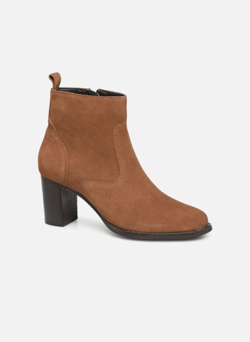 Bottines et boots I Love Shoes PRIMROSE LEATHER Marron vue détail/paire