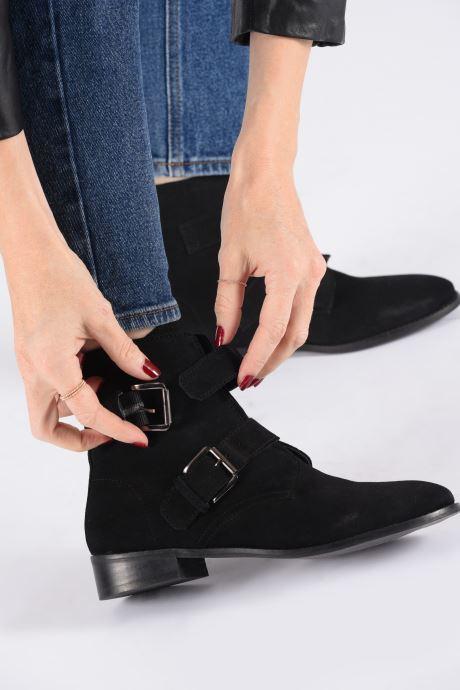 Bottines et boots I Love Shoes PRAISE LEATHER Noir vue bas / vue portée sac