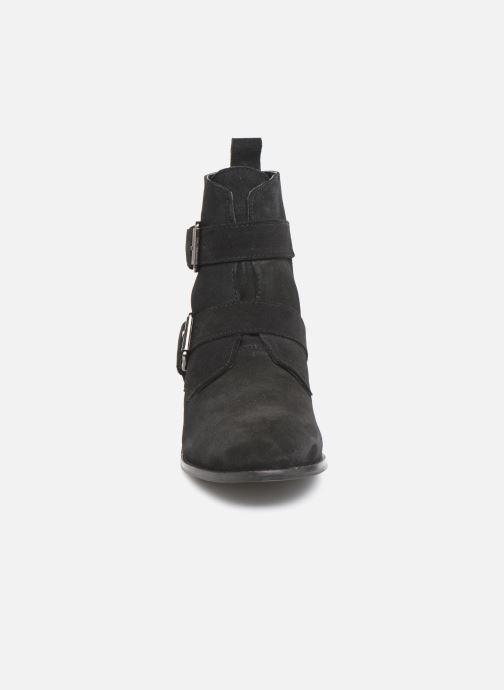 Bottines et boots I Love Shoes PRAISE LEATHER Noir vue portées chaussures