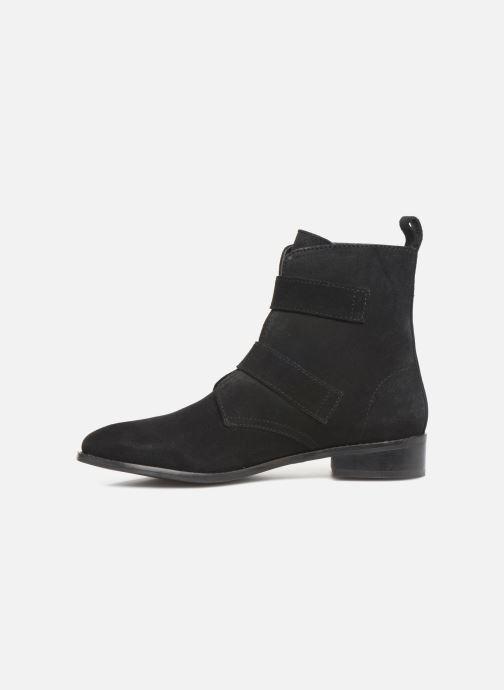 Bottines et boots I Love Shoes PRAISE LEATHER Noir vue face