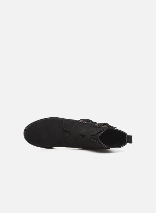 Bottines et boots I Love Shoes PRAISE LEATHER Noir vue gauche