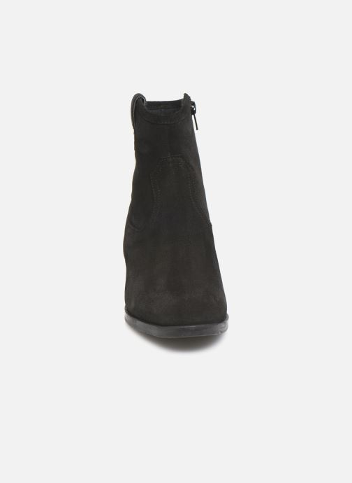 Ankle boots I Love Shoes PRUNEL LEATHER Black model view