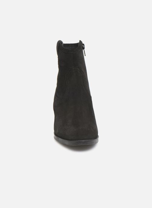 Stivaletti e tronchetti I Love Shoes PRUNEL LEATHER Nero modello indossato