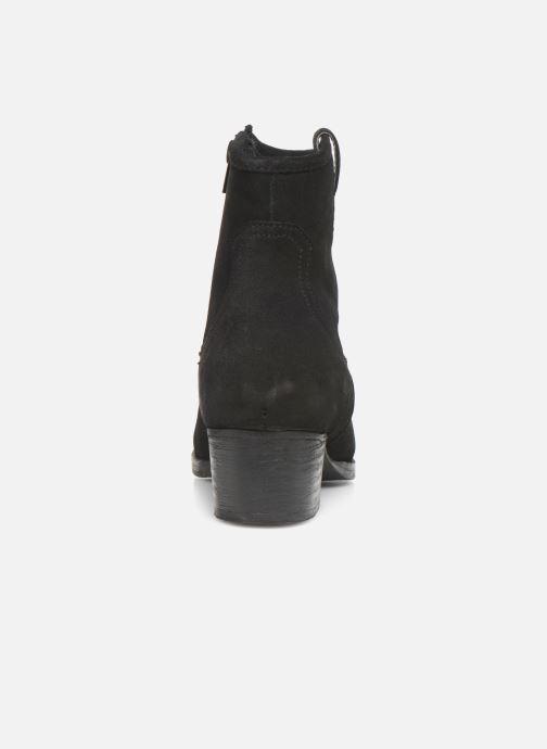 Boots en enkellaarsjes I Love Shoes PRUNEL LEATHER Zwart rechts