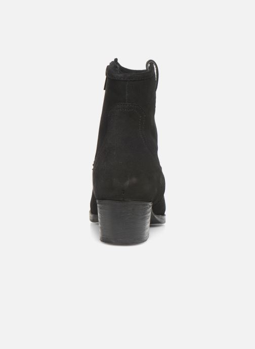 Ankle boots I Love Shoes PRUNEL LEATHER Black view from the right