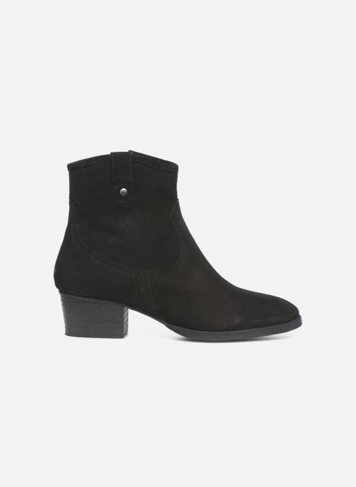 Ankle boots I Love Shoes PRUNEL LEATHER Black back view