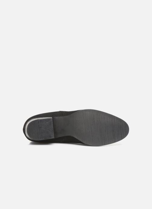 Stivaletti e tronchetti I Love Shoes PRUNEL LEATHER Nero immagine dall'alto