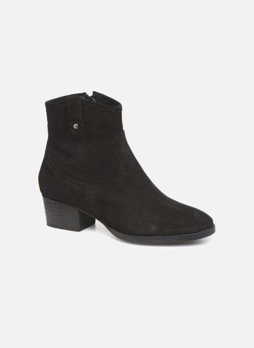 Ankle boots I Love Shoes PRUNEL LEATHER Black detailed view/ Pair view