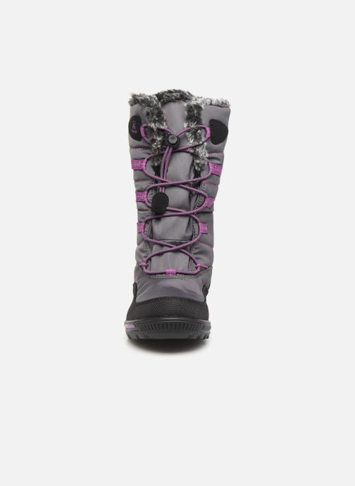 Bottes Kamik Cassia Gris vue portées chaussures