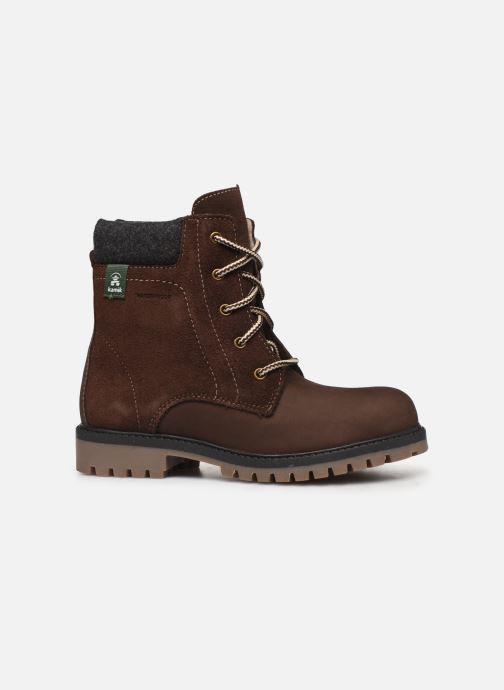 Boots & wellies Kamik Takoda LO 2 Brown back view