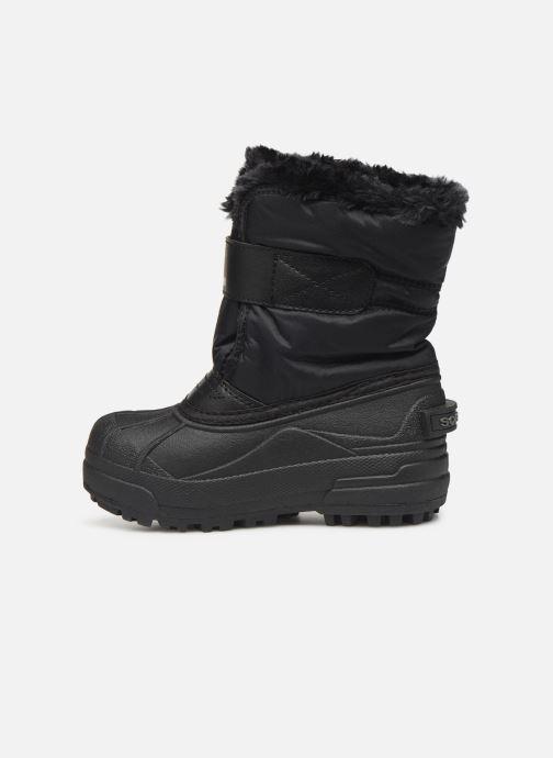 Zapatillas de deporte Sorel Childrens Snow Commander Negro vista de frente