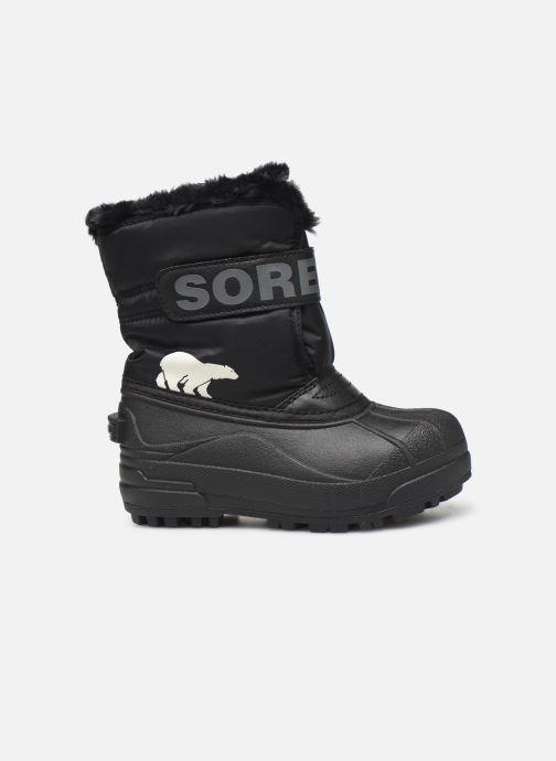 Sportschoenen Sorel Childrens Snow Commander Zwart achterkant