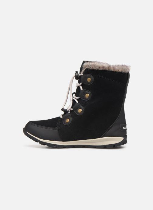 Chaussures de sport Sorel Youth Whitney Suede Noir vue face