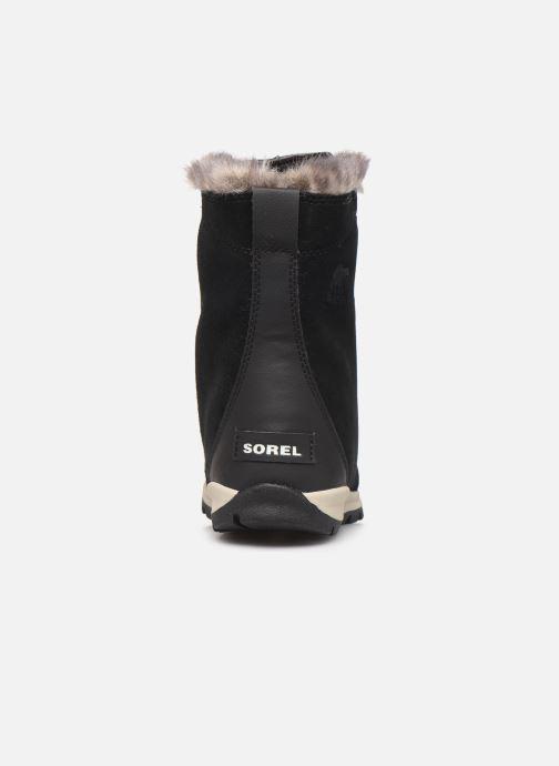 Chaussures de sport Sorel Youth Whitney Suede Noir vue droite