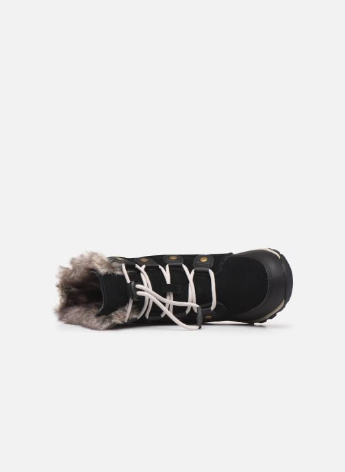 Chaussures de sport Sorel Youth Whitney Suede Noir vue gauche