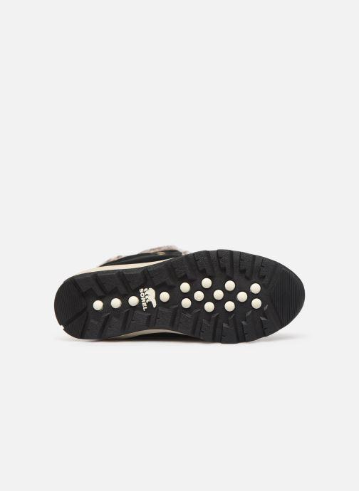 Chaussures de sport Sorel Youth Whitney Suede Noir vue haut
