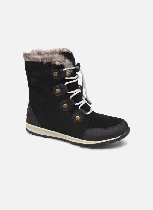 Chaussures de sport Sorel Youth Whitney Suede Noir vue détail/paire