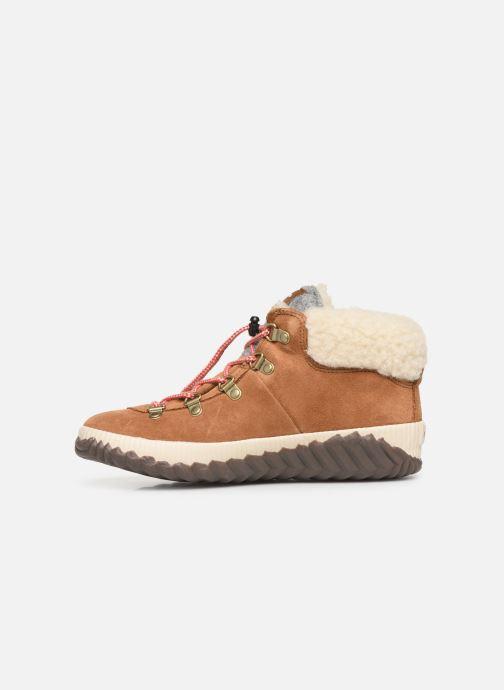 Boots en enkellaarsjes Sorel Youth Out N About Conquest Bruin voorkant