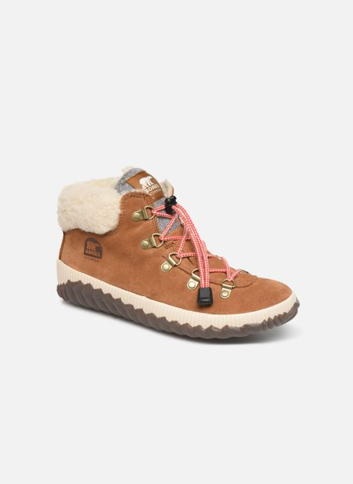 Bottines et boots Sorel Youth Out N About Conquest Marron vue détail/paire