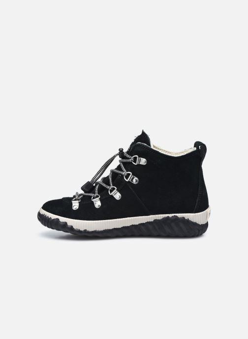 Stiefeletten & Boots Sorel Youth Out N About Conquest schwarz ansicht von vorne