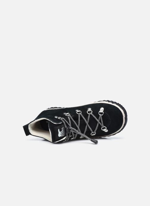 Stiefeletten & Boots Sorel Youth Out N About Conquest schwarz ansicht von links