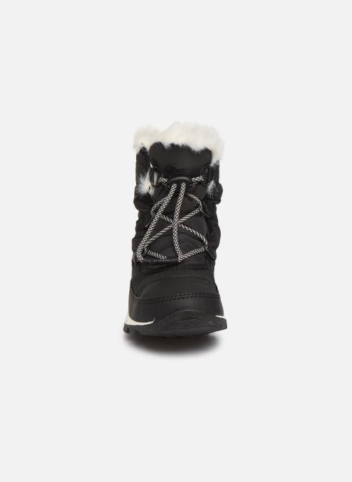 Zapatillas de deporte Sorel Youth Whitney Short Lace Negro vista del modelo