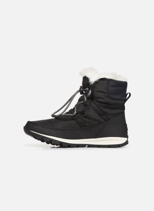 Sport shoes Sorel Youth Whitney Short Lace Black front view
