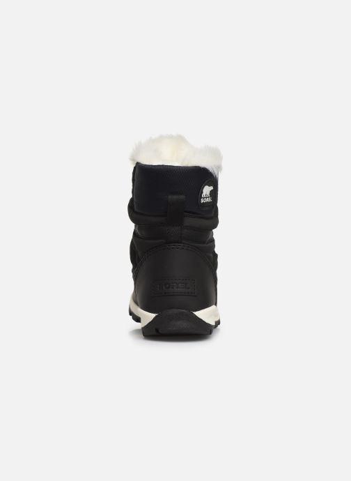 Chaussures de sport Sorel Youth Whitney Short Lace Noir vue droite