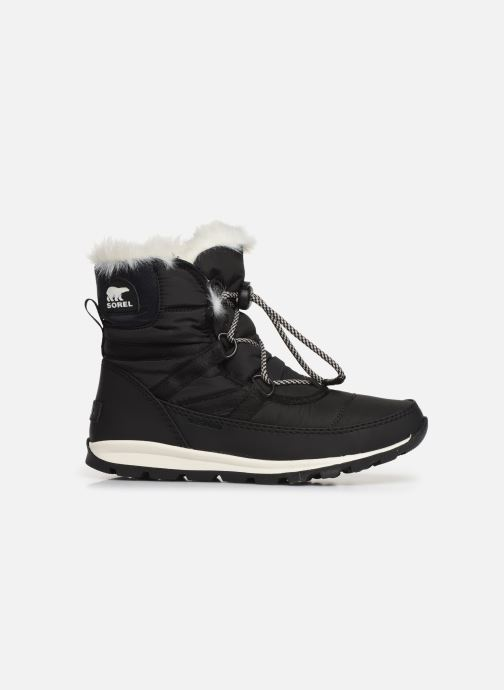 Sport shoes Sorel Youth Whitney Short Lace Black back view