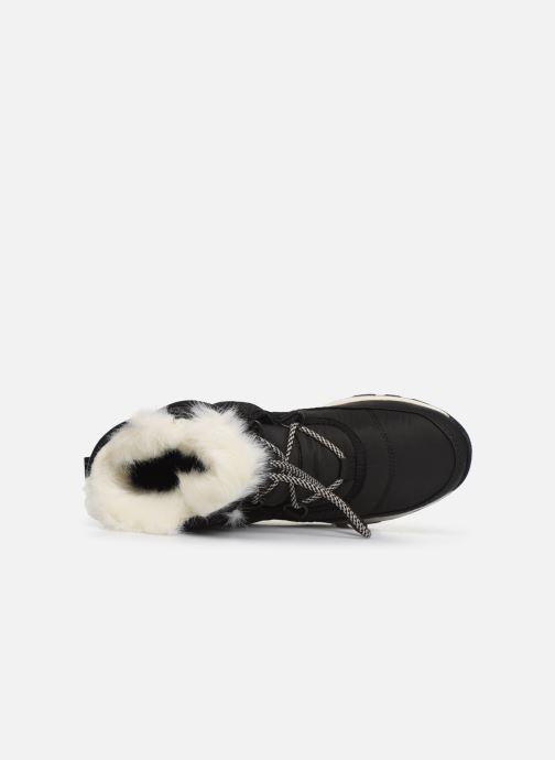 Zapatillas de deporte Sorel Youth Whitney Short Lace Negro vista lateral izquierda