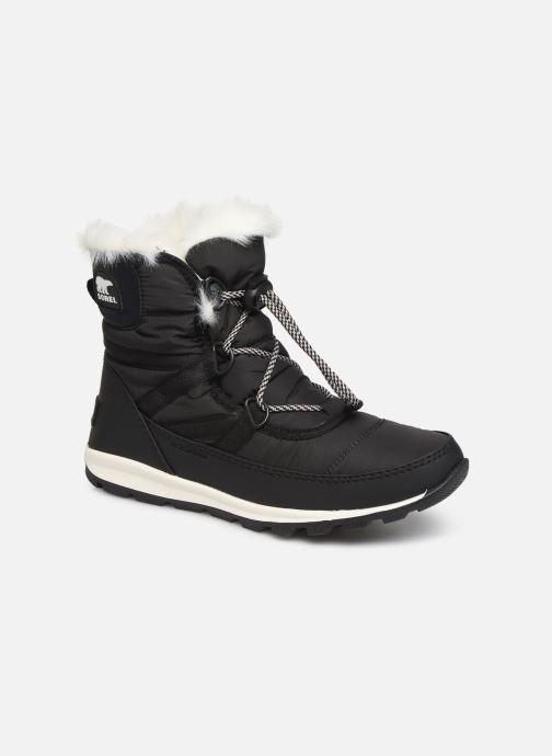 Zapatillas de deporte Sorel Youth Whitney Short Lace Negro vista de detalle / par