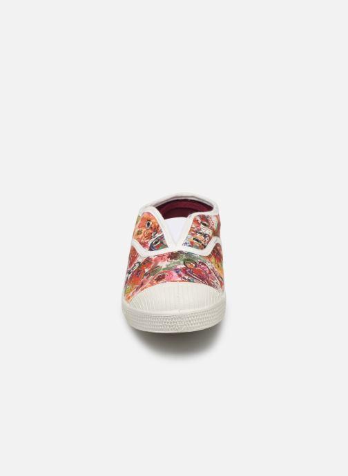 Sneakers Bensimon Tennis Elly Aquarel Print Multicolore modello indossato