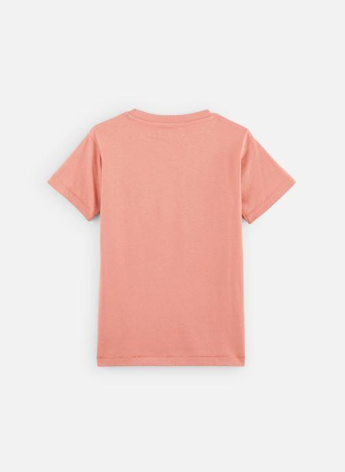Vêtements A Monday In Copenhagen  Trés Bien T-shirt Orange vue bas / vue portée sac