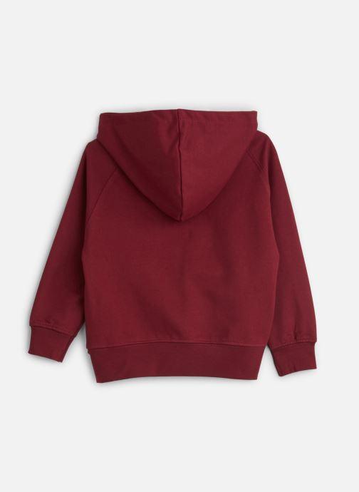 Vêtements A Monday In Copenhagen  Vic Hoodie Bordeaux vue bas / vue portée sac