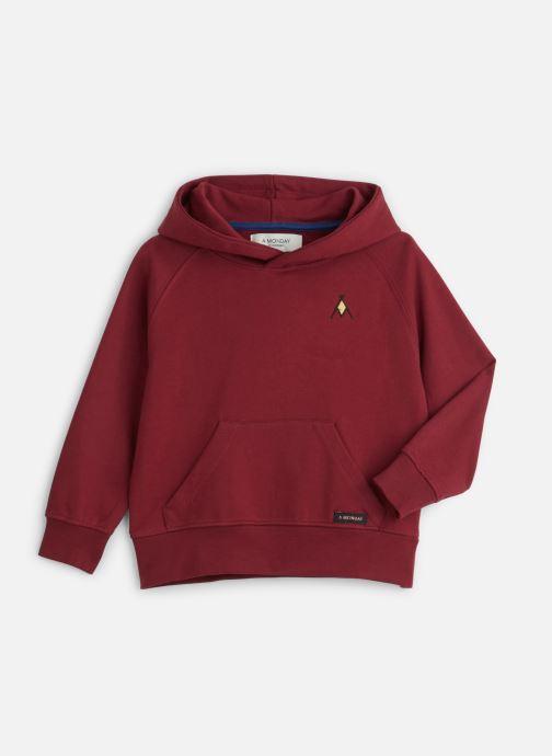 Vêtements A Monday In Copenhagen  Vic Hoodie Bordeaux vue détail/paire