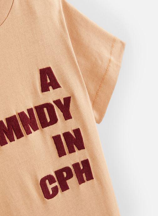 Vêtements A Monday In Copenhagen  CPH T-shirt Beige vue portées chaussures