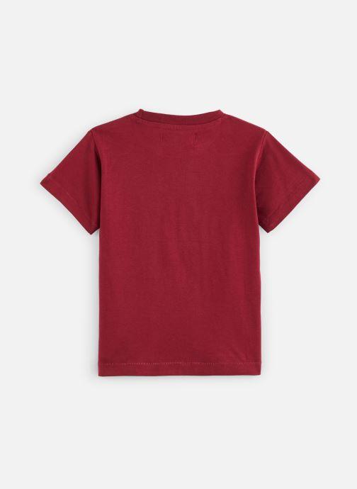 Vêtements A Monday In Copenhagen  CPH T-shirt Bordeaux vue bas / vue portée sac