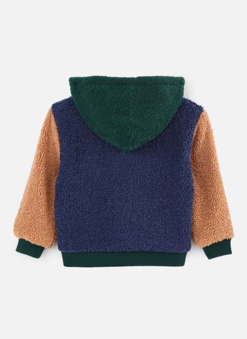 Vêtements A Monday In Copenhagen  Seb Hoodie Vert vue bas / vue portée sac