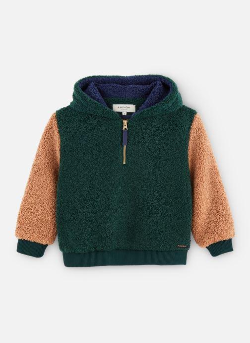 Vêtements A Monday In Copenhagen  Seb Hoodie Vert vue détail/paire