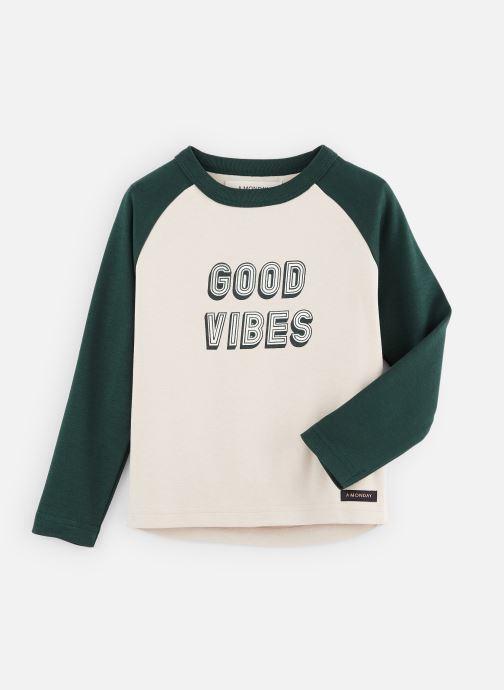 Vêtements A Monday In Copenhagen  Vibe T-shirt Blanc vue détail/paire