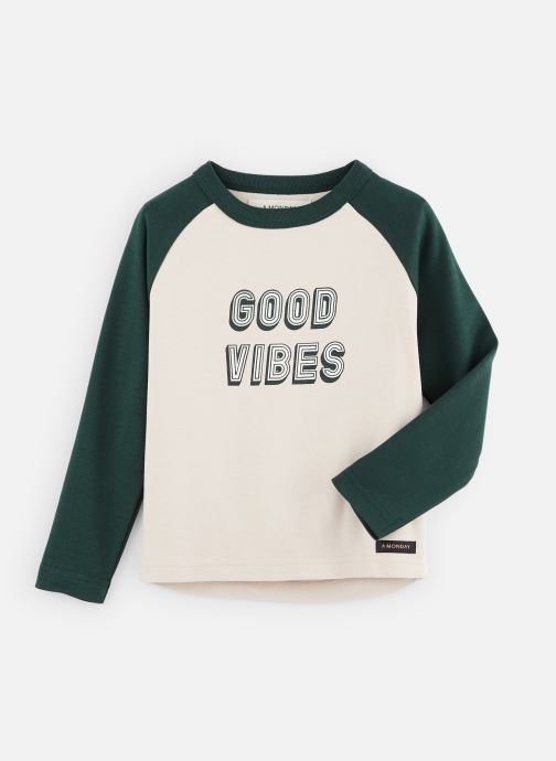Kleding A Monday In Copenhagen  Vibe T-shirt Wit detail