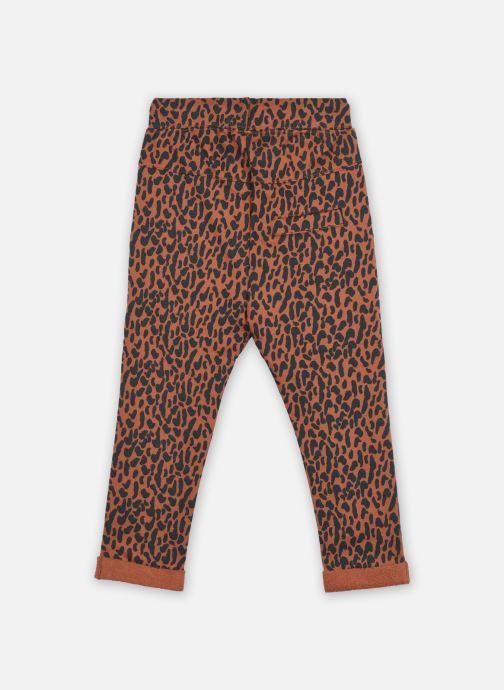 Vêtements A Monday In Copenhagen  Billie Pants Marron vue portées chaussures