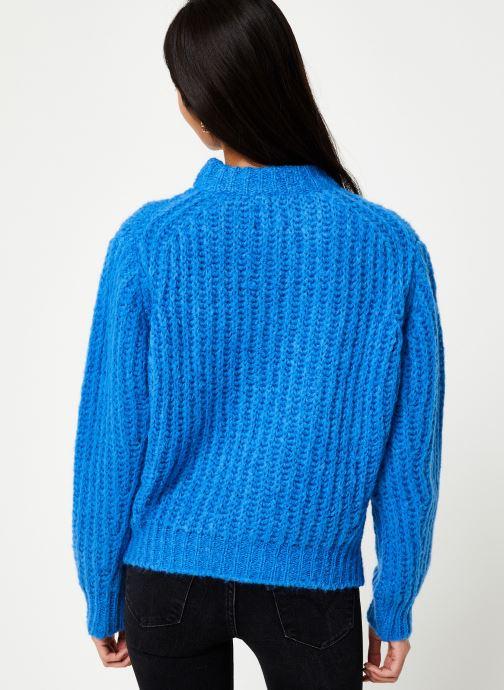 Vêtements CKS Women KAMIANSKE Bleu vue portées chaussures