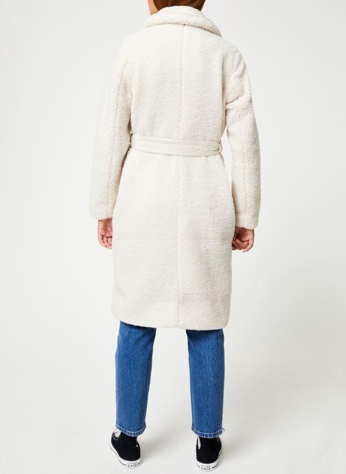 Vêtements CKS Women CARDIFF Blanc vue portées chaussures